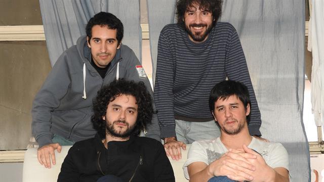 Los cuatro creadores de Procer: parados, Julián Guerrero y José Ribodino; sentados, Manuel Díaz Ferreiro y Mariano Lescano.